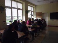 Zebranie wiejskie mieszkańców Sadkowa