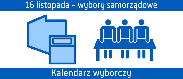 wybory samorządowe ikony