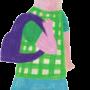 Dziewczynka z plecaczkiem