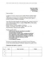 Szanowna Pani,  w oparciu o § 14 ust. 2 oraz § 15 ust 3. statutu Sołectwa Grabów Gminy Tuplice (zał. nr 6 do uchwały nr XV/66/04 Rady Gminy Tuplice z dnia 03 grudnia 2004 r.) my niżej podpisani występujemy z wnioskiem do Wójta Gminy Tuplice z prośbą o zwołanie V Zebrania Wiejskiego.  Nasz Sołtys Krzysztof Jagodzki jest niedysponowany i zebrania zwołać nie może. Niemniej jednak zebraniu w piątek, 31 lipca 2015 r. Sołtys będzie przewodniczył osobiście. Miejsce zebrania: świetlica wiejska w Grabowie, Termin / czas trwania: 31.07.2015 r., godz. 16.00 – ok. 17.30, Przewodniczący: Sołtys Krzysztof Jagodzki.  Projekt porządku obrad:  16.00 otwarcie zebrania i przywitanie uczestników 16.05 formalności protokolarne 16.20 Przywitanie i krótka relacja z działalności Radnego 16.25 Wyjaśnienie zasady działania funduszu sołeckiego 16.40 Projekt realizacji funduszu sołeckiego na 2016 rok  16.55 Podjecie uchwały o funduszu soleckim 17.10 Sprawy różne 17.30 Zamknięcie zebrania  Protokoły prowadzą Rada Sołecka oraz Komisja Uchwał i Wniosków.  W razie nie uzyskania quorum VI Zebranie rozpocznie się o godz. 16.30.  Dziękujemy uprzejmie za wsparcie: