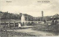 Park Miejski, ze zbiorów Remigiusza Czaplińskiego)