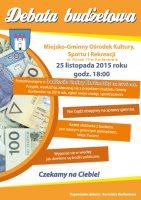 Zaproszenie-debata budżetowa 2015