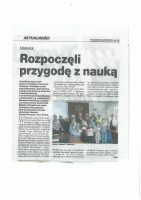 art_rozpoczecie IV semestru NUD_Tygodnik Mazowiecki