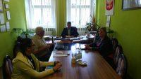 spotkanie z Burmistrzem Gminy Żmigród