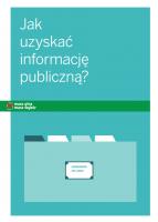 Jak uzyskać informacj publiczną