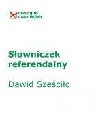 Słowniczek referendalny