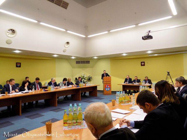 zdjęcie rady miasta lubartów