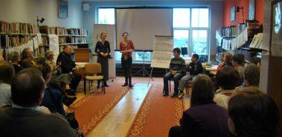Warsztaty przyszłościowe w bibliotece w Kazimierzy Wielkiej