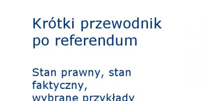 Krótki przewodnik po referendum