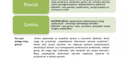 Samorząd terytorialny w pigułce. System samorządowy w Polsce.