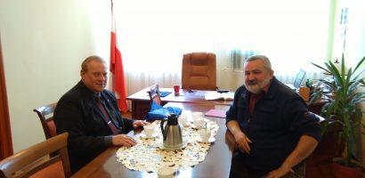 Rozmowy z Burmistrzem Korfantowa