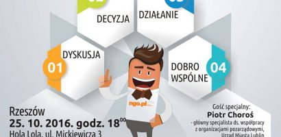 I Spotkanie sieciujące NGO w Rzeszowie 25.10.2016