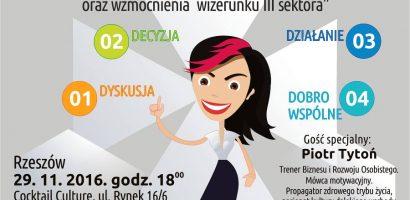 II Spotkanie sieciujące NGO w Rzeszowie 29.11.2016
