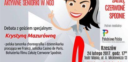 IV Spotkanie Organizacji Pozarządowych w Rzeszowie – Aktywne SENIORKI w NGO