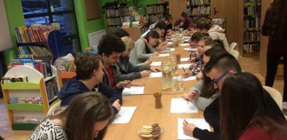 Młodzieżowa Rada Gminy organizatorem turnieju Bingo w bibliotece