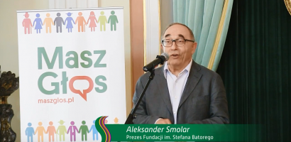 Aleksander Smolar na gali Super Samorząd 2017 r.