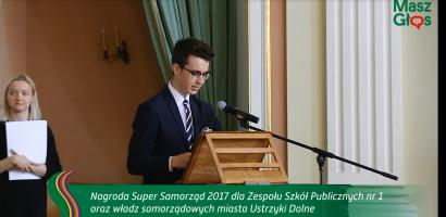 Wypowiedzi laureatów nagrody Super Samorząd 2017
