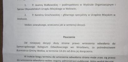 Gmina Wołów nie chce ujawnić rejestru umów