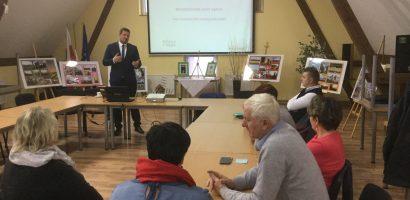 Spotkanie z Szymonem Osowskim i radnymi naszej gminy