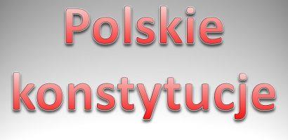 """""""Polskie Konstytucje""""- wykład dr Ryszarda Balickiego w Złotoryi"""