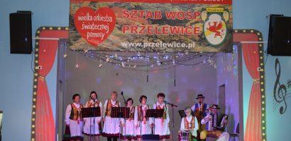 Udział Klubu Wolontariatu w WOŚP Przelewice