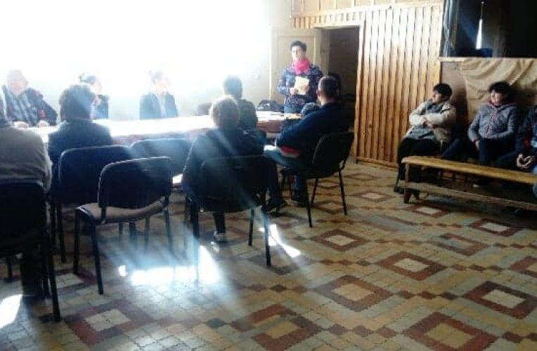 O funduszu sołeckim i szkoleniach w Gui