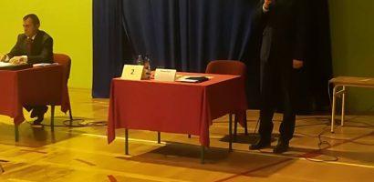 Debata kandydatów na wójta gminy Brudzeń Duży