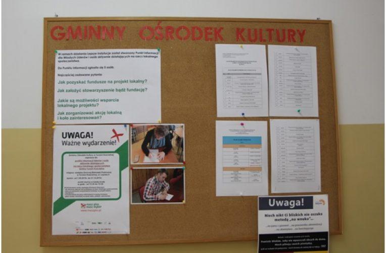 GOK wspiera rozwój lokalnej aktywności obywatelskiej