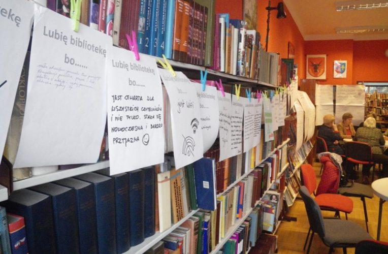 Biblioteka otwiera się na potrzeby społeczności