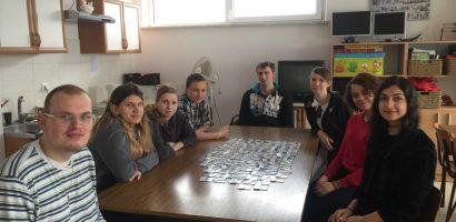 Odwiedziły nas wolontariuszki Gizem (z Turcji) i Quezia (z Brazylii).