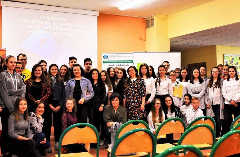 Sympozjum Samorządów Uczniowskich w Bolechowie