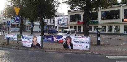 Pierwsze efekty monitoringu reklam wyborczych w Słupsku