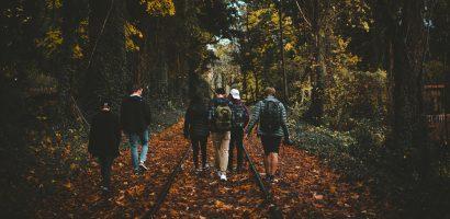 Spacer z radnymi w Miłoradzu