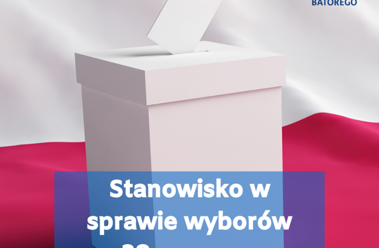 Stanowisko Fundacji Batorego ws. wyborów prezydenckich 28 czerwca