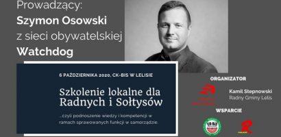 Szkolenie dla radnych i sołtysów