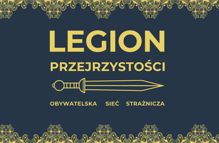 Współdziałaj z Legionem Przejrzystości!