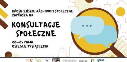 Pogadajmy: konsultacje społeczne w Krośnie