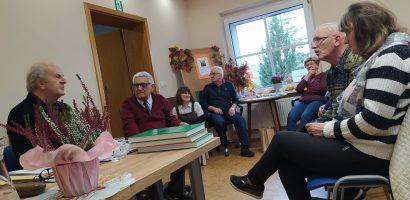 Spotkanie autorskie w Pawonkowie