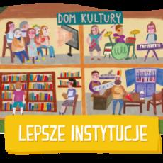 Logo grupy Lepsze instytucje 2015/2016
