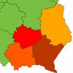 Logo grupy Lubelskie, Małopolskie, Podkarpackie, Świętokrzyskie 2017/2018