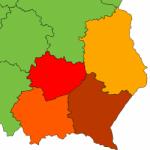 Logo grupy Lubelskie, Małopolskie, Podkarpackie, Świętokrzyskie 2018/2019