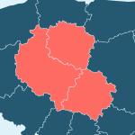 Logo grupy Kujawsko-Pomorskie, Łódzkie, Wielkopolskie 2021